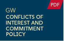 Conflicts of Interest and Committment Policy (PDF)