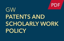 GW Patents and Scholarly Work Policy (PDF)